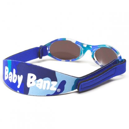 Adventure Banz Camo Blue sunglasses (back)