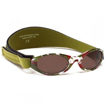 Adventure Banz Camo Green sunglasses