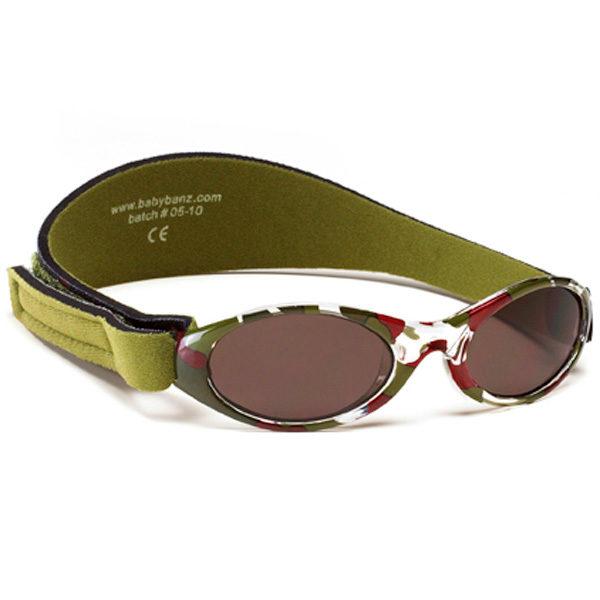 Adventure Banz Camo Green sunglasses