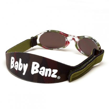 Adventure Banz Camo Green sunglasses (back)