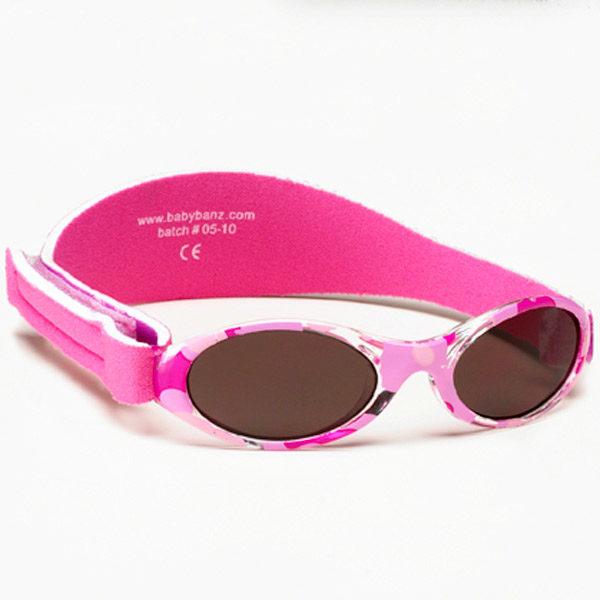 Adventure Banz Camo Pink sunglasses