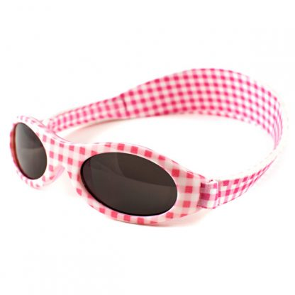Adventure Banz Pink Check sunglasses