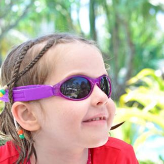 Adventure Banz Purple sunglasses in Fiji