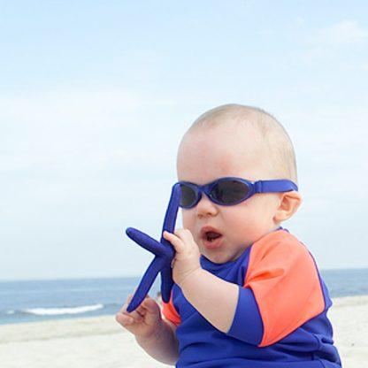 Baby in Adventure Banz Blue