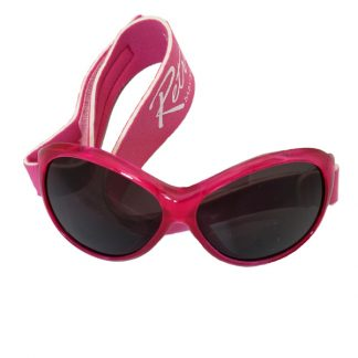 Retro Banz Berry Pink sunglasses