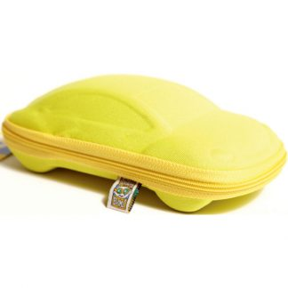 Yellow Car sunglasses case