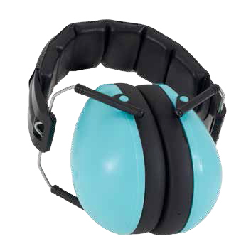 Hear No Blare Earmuffs Aqua 2-10+ years