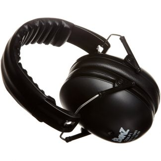 Hear No Blare Black Earmuffs 2-10+ years