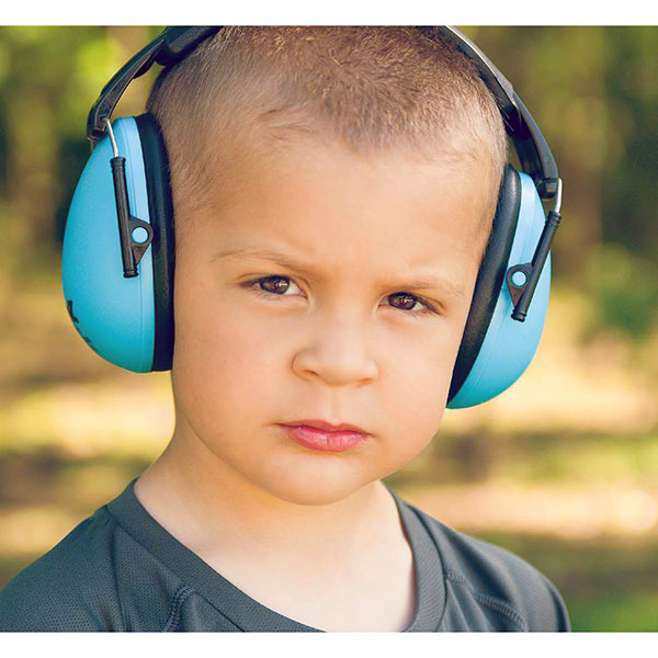 Noise-sensitive children really benefit from Banz earmuffs
