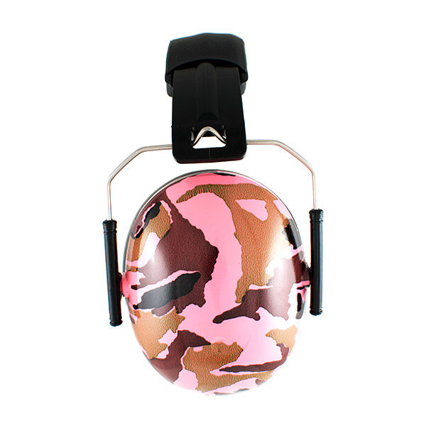 Protective Earmuffs in Camo Pink