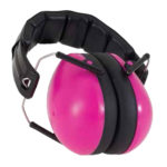 Protective Earmuffs in Magenta