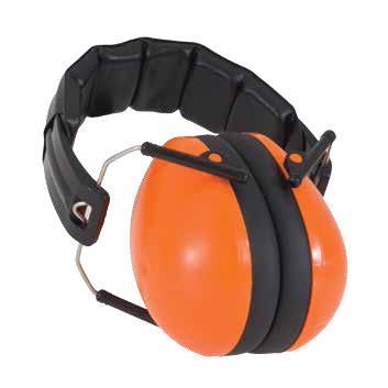 Protective Earmuffs in Orange