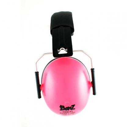 Hear No Blare Earmuffs in Pink