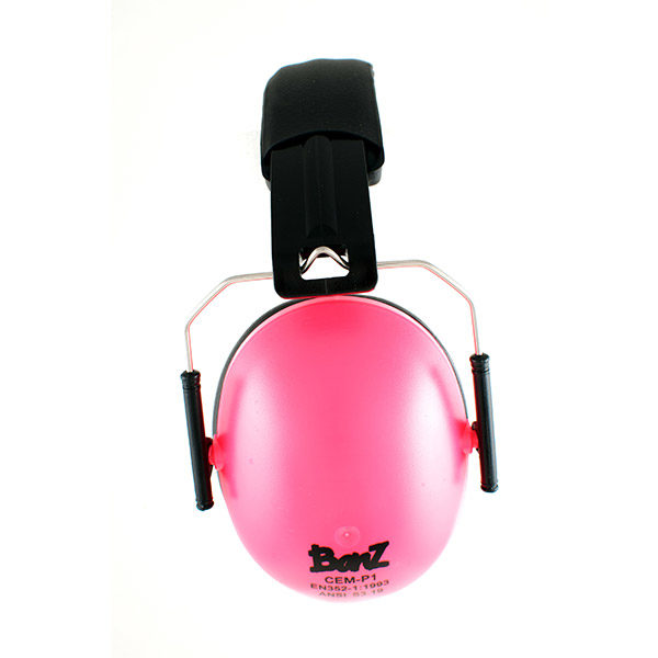 Protective Earmuffs in Pink
