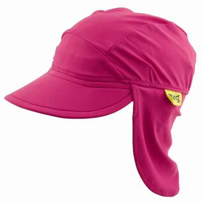Flap Hat in Pure Pink