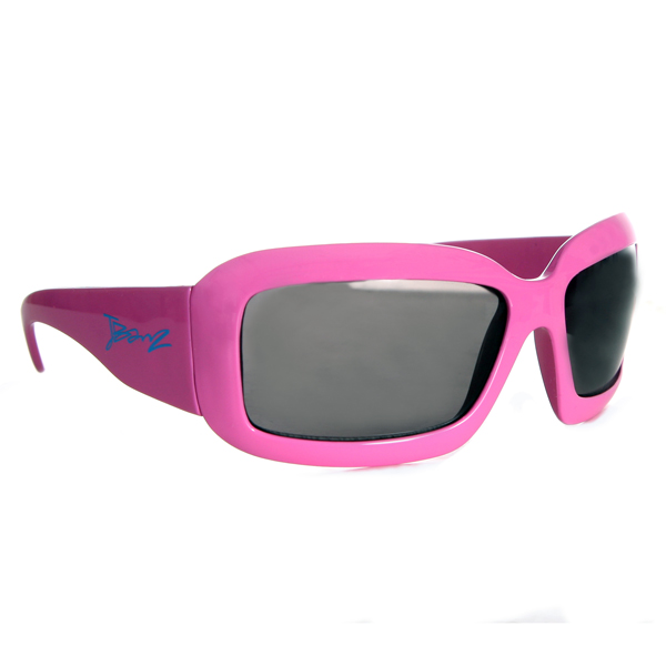 JBanz Wraparound Square Pink sunglasses