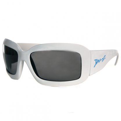 JBanz Wrap Square White sunglasses
