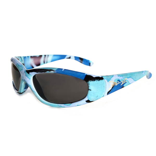 JBanz Patternz Camo Blue sunglasses