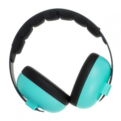 Hear No Blare Mini Earmuffs in Aqua