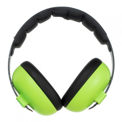 Mini Earmuffs Lime Green