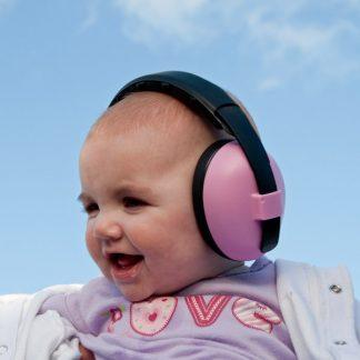 Mini Muffs earmuffs in Pink