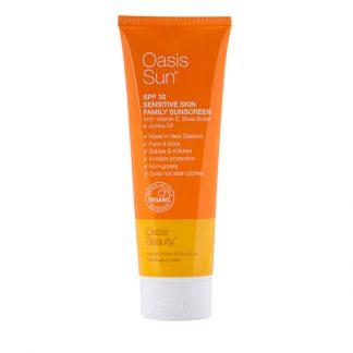 Oasis Sun natural sunscreen