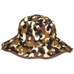 Reversible Sunhat - Camo Brown