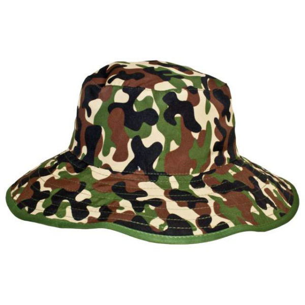 Reversible Sunhat - Camo Green