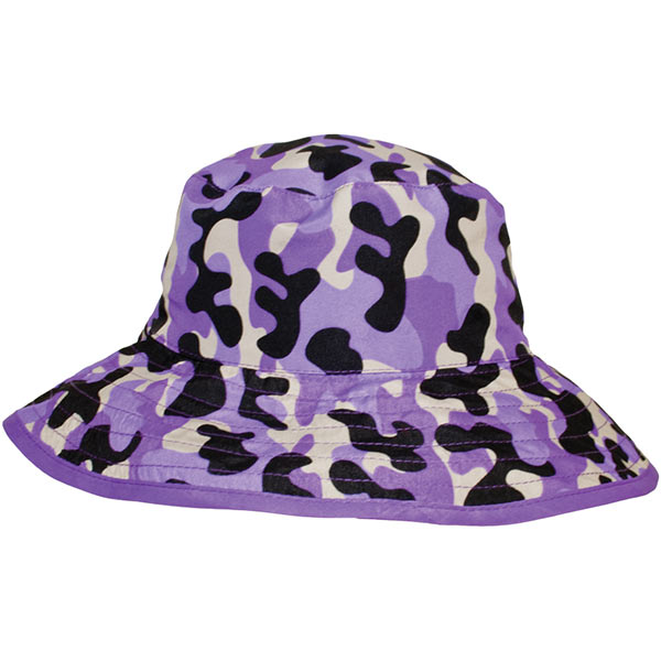 Reversible Sunhat - Camo Purple
