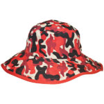 Reversible Sunhat - Camo Red