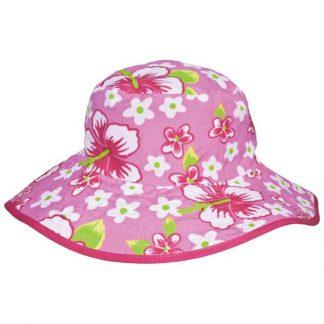 Reversible Sunhat - Hibiscus Pink