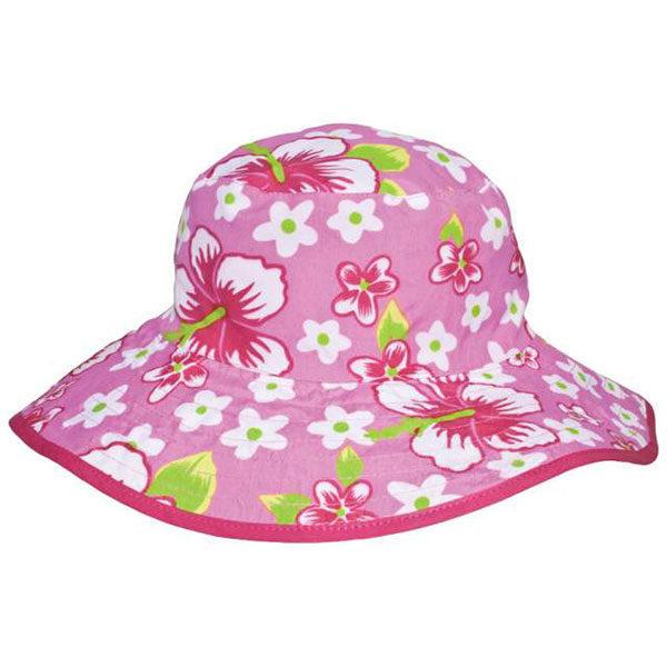 Reversible Sunhat - Pink Hibiscus