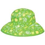 Reversible Sunhat - Tidal Lime
