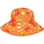 Reversible Sunhat - Tidal Orange
