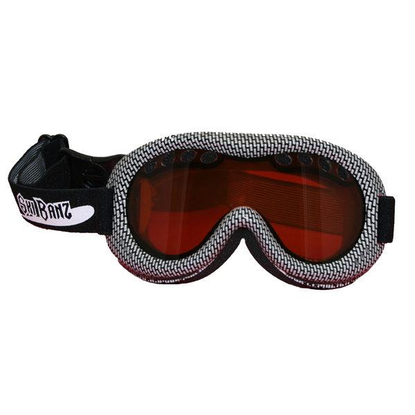 SkiBanz Frostbite Black snow goggles