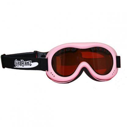 SkiBanz Powder Pink snow goggles
