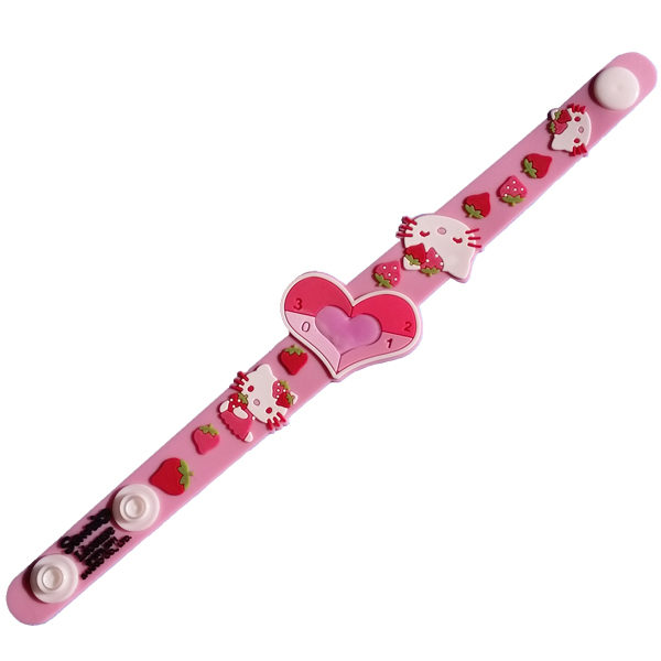 Sun-Safe Band in Hello Kitty Strawberries