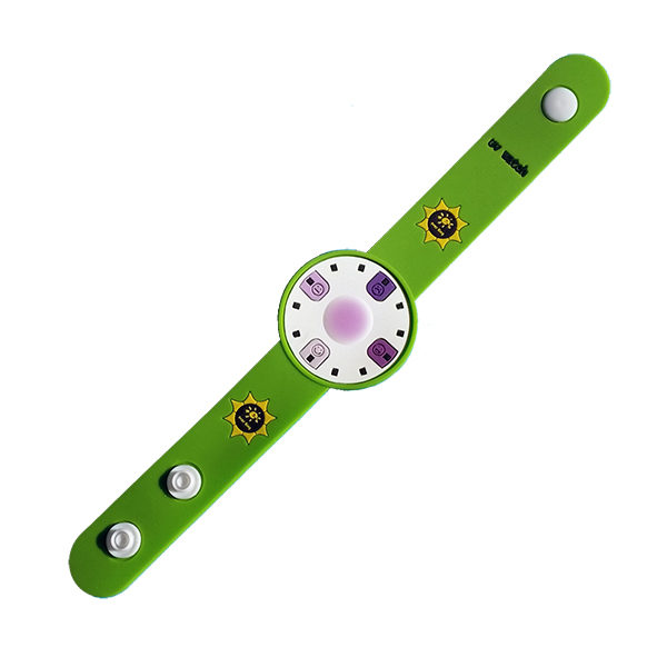 Sun-Safe Band in Summer Green
