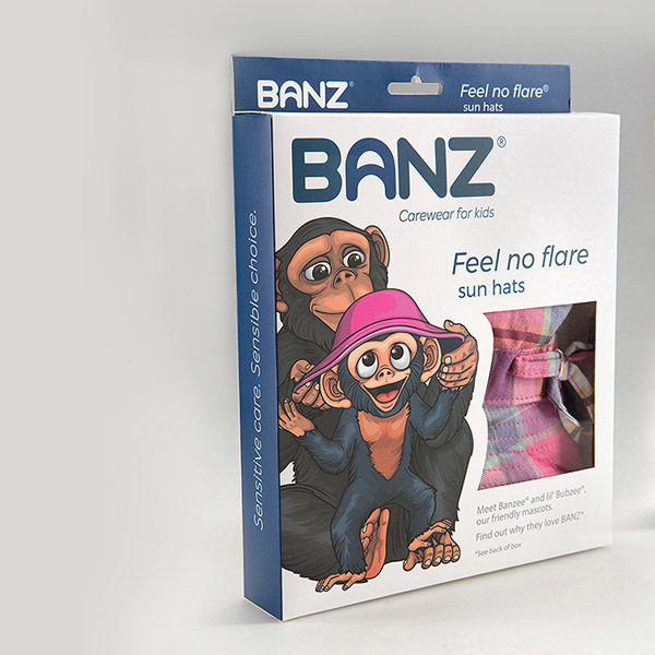 Banz Bucket Sunhats eco-packs