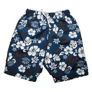 Board shorts - Blue/Choc