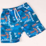 Board shorts Blue Graffiti