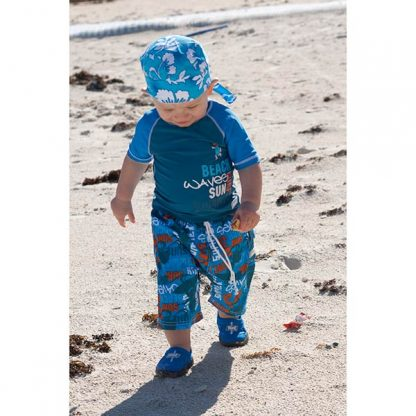 Small boy in Blue Grattiti/Surfer outfit