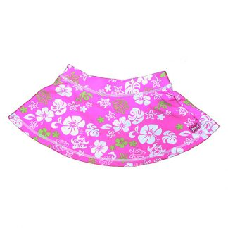 Pink/Green swim skirt