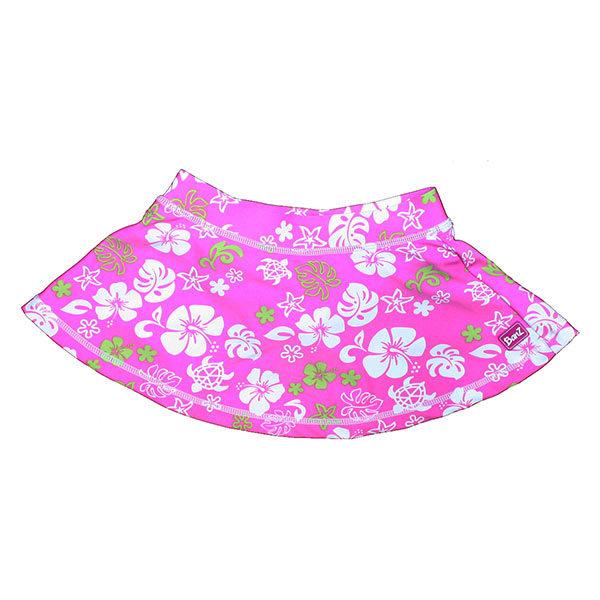 Pink/Green swim skirt