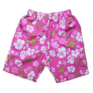 Board shorts Pink/Green