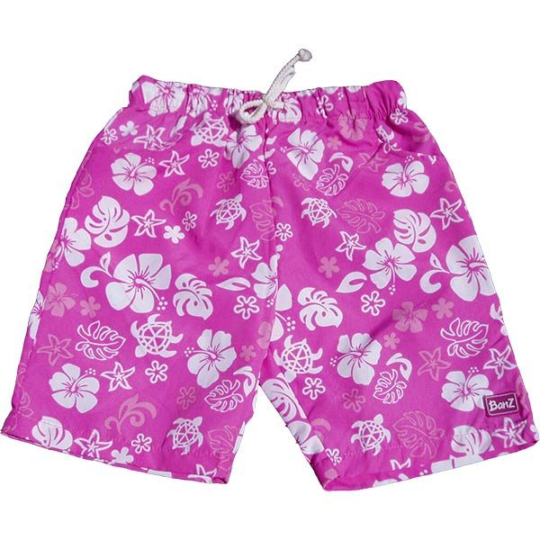 Board shorts Pink/White