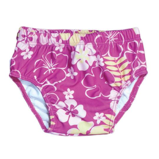 Sun Blossom Print swim nappy