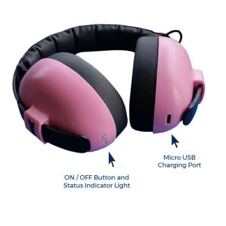 Mini Muffs with bluetooth connectivity
