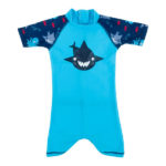 One-piece suit Turquoise Shark