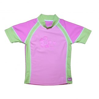 Short sleeves Pink Green